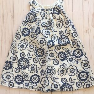 Navy & White The Eagle's Eye Dress Size 5